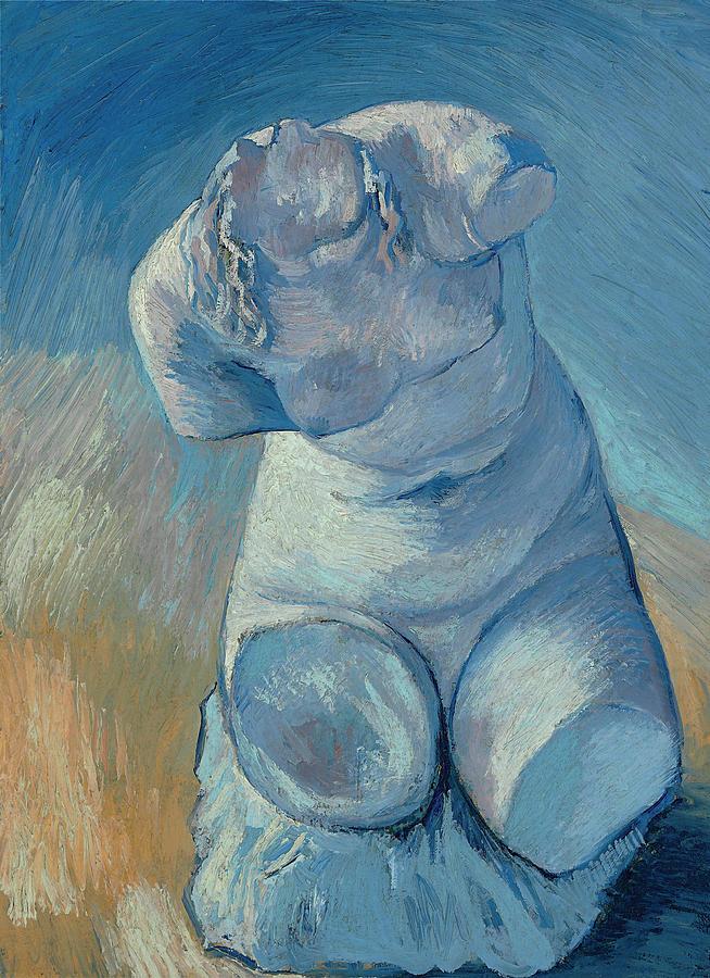 Van Gogh Painting - Van Gogh Female Torso by Vincent Van Gogh