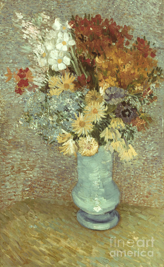 1887 Photograph - Van Gogh: Flowers, 1887 by Granger