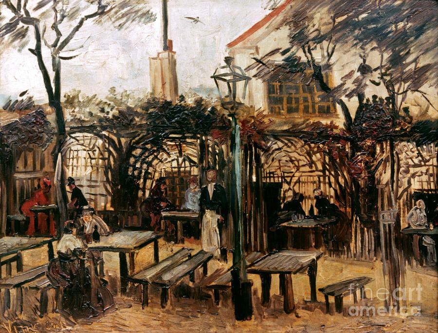 1886 Photograph - Van Gogh: Guingette, 1886 by Granger