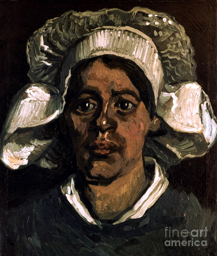 19th Century Photograph - Van Gogh: Peasant, 19th C by Granger