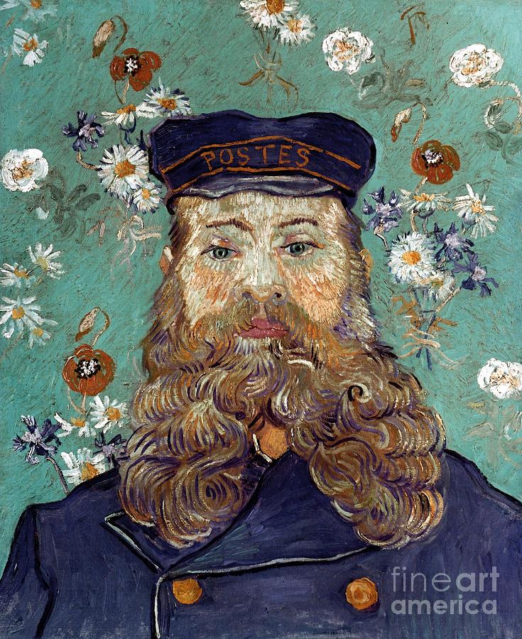1889 Photograph - Van Gogh: Postman, 1889 by Granger