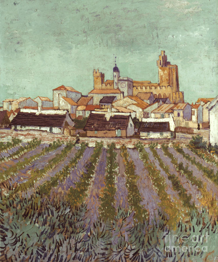 1888 Photograph - Van Gogh: Saintes-maries by Granger