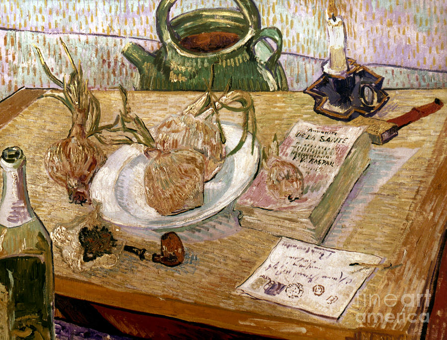 1889 Photograph - Van Gogh: Still Life, 1889 by Granger