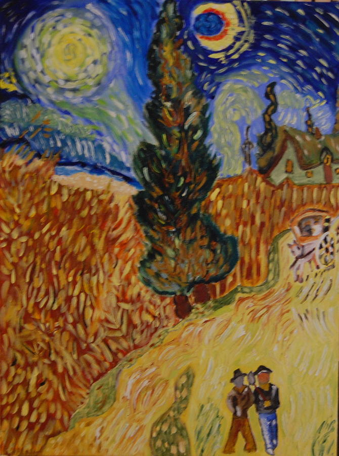 Van Gogh Painting - Van Gogh Study by Michele Edler