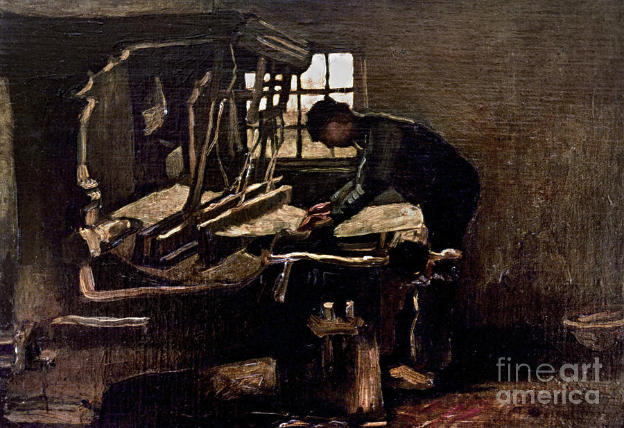 1884 Photograph - Van Gogh: Weaver, 1884 by Granger