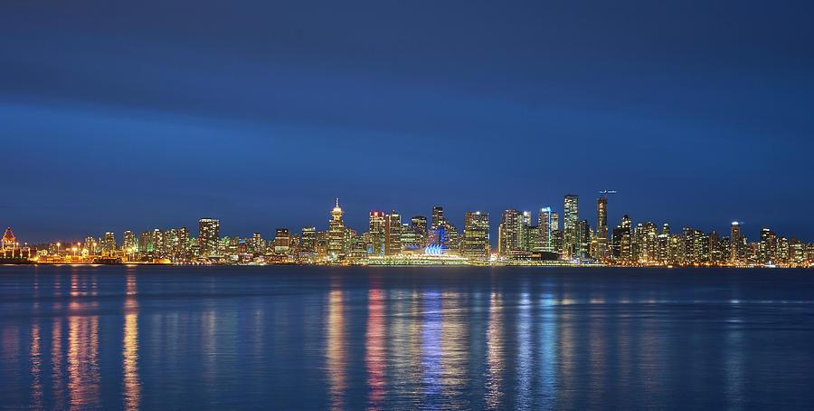 Vancouver Photograph - Vancouver Cityscape by Mauricio Ricaldi