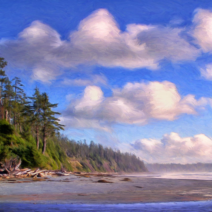 Vancouver Island Painting - Vancouver Island by Dominic Piperata
