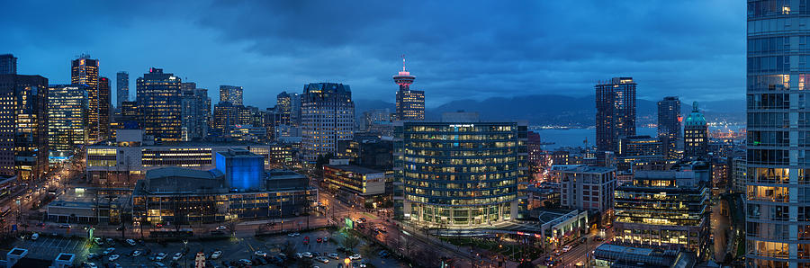 Vancouver Panorama- Beaty And Dunsmuir Photograph