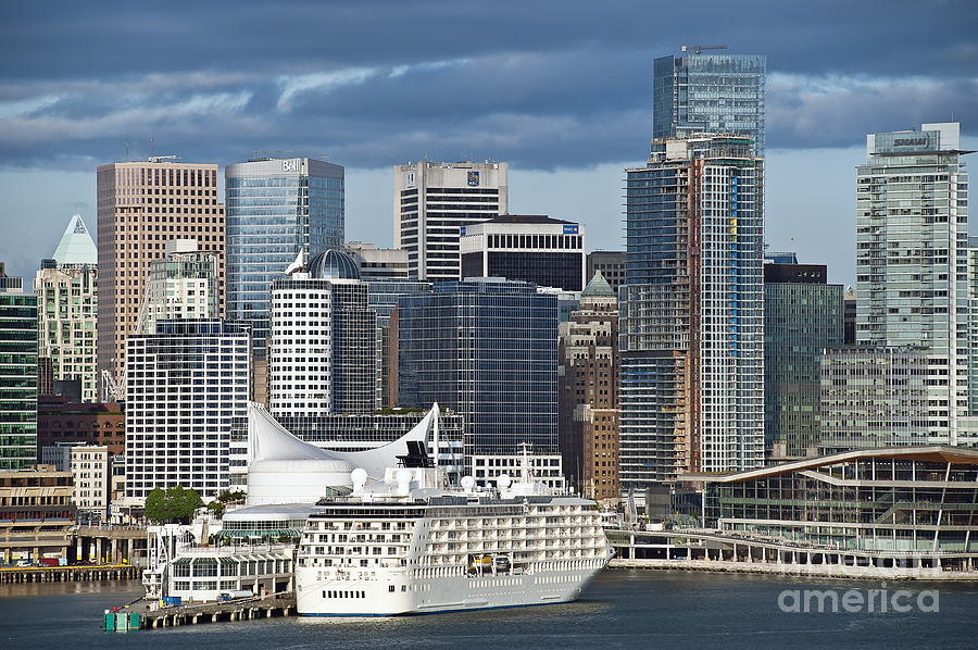 Business Photograph - Vancouver Skyline by John Greim
