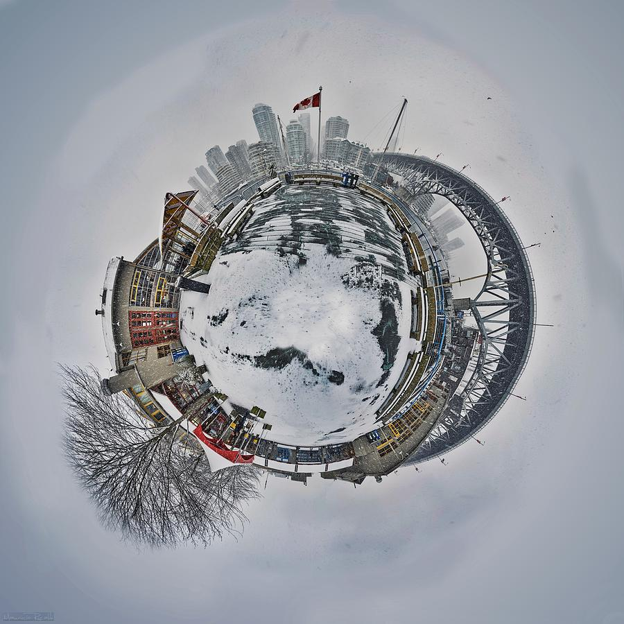 Vancouver Photograph - Vancouver Winter Planet by Mauricio Ricaldi