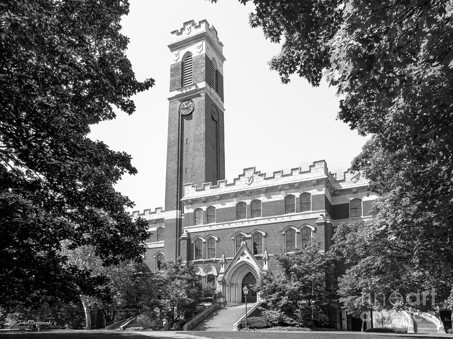 Aau Photograph - Vanderbilt University Kirkland Hall by University Icons
