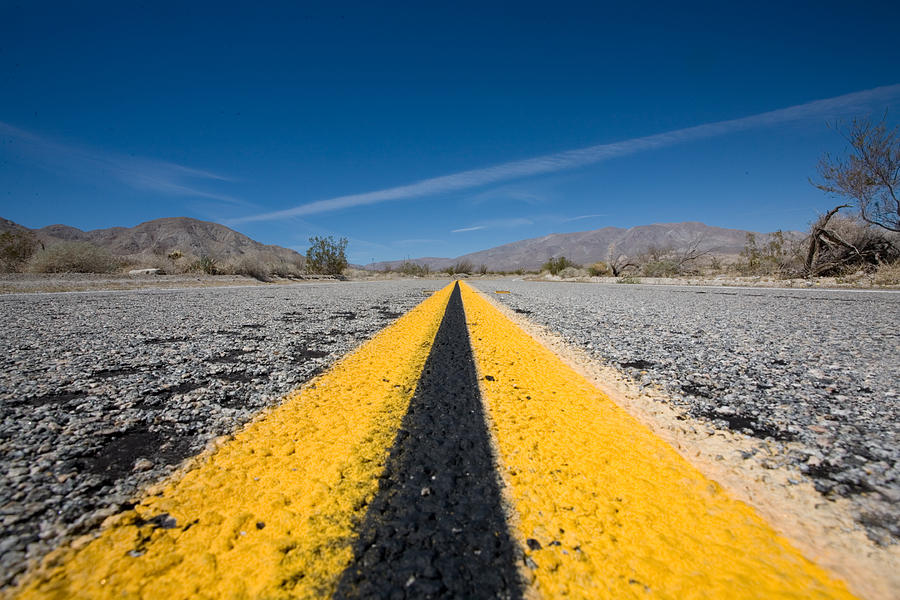 Agua Caliente Photograph - Vanishing Point by Peter Tellone