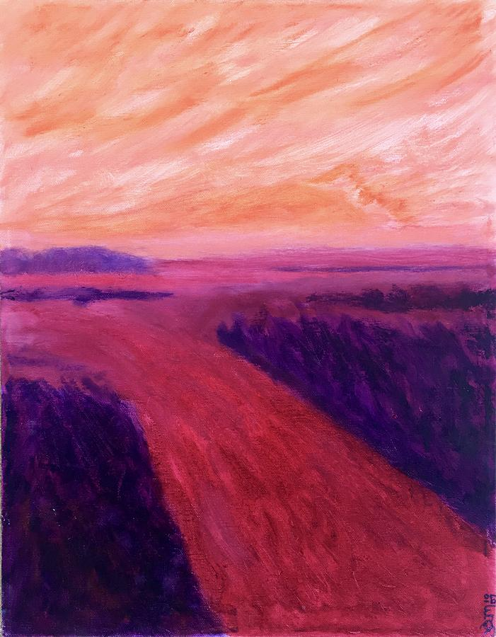 Vanishing Painting by Suzanne Udell Levinger