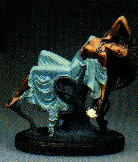 Figurative Sculpture - Vanity by Angelo Basso