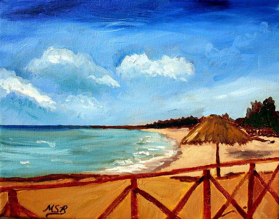Varadero Painting - Varadero Beach  by Maria Soto Robbins