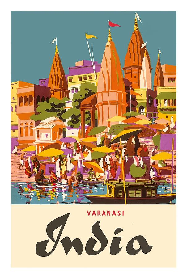 Vintage Travel Posters India