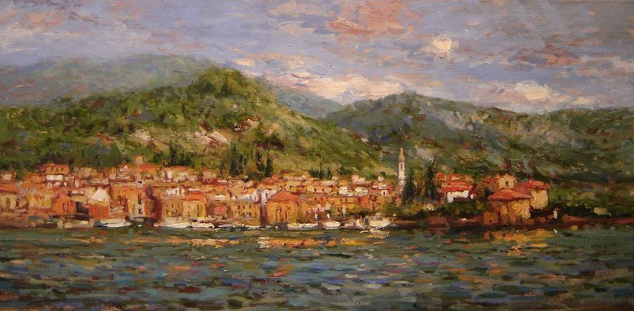Varenna Painting - Varenna Italy by R W Goetting