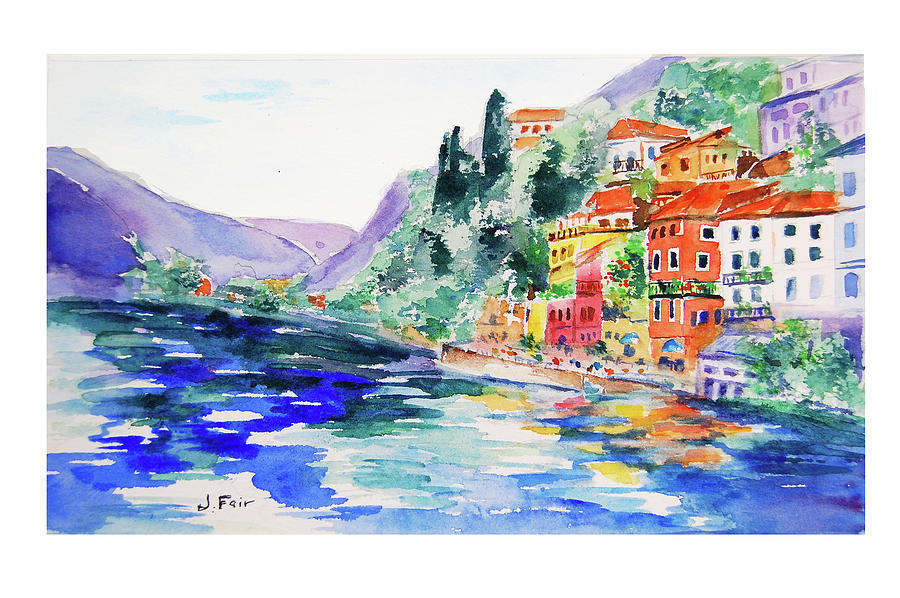 Varenna on Lake Como by Jerry Fair