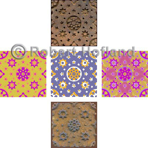 Wood Blocks Digital Art - Variations by Robert Hofland