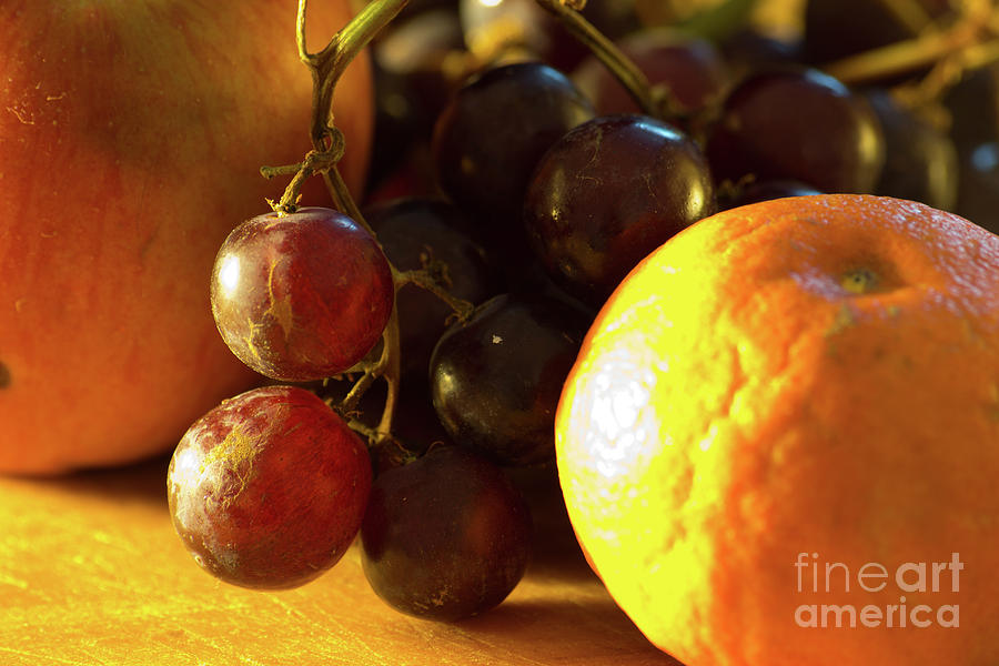 Food Photograph - Various Fruit by Brian Roscorla