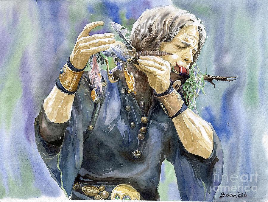 Watercolor Painting - Varius Coloribus by Yuriy Shevchuk