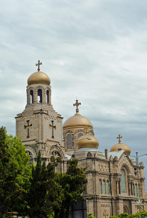 Cathedral Photograph - Varna Cathedral,bulgaria by Boyan Dimitrov