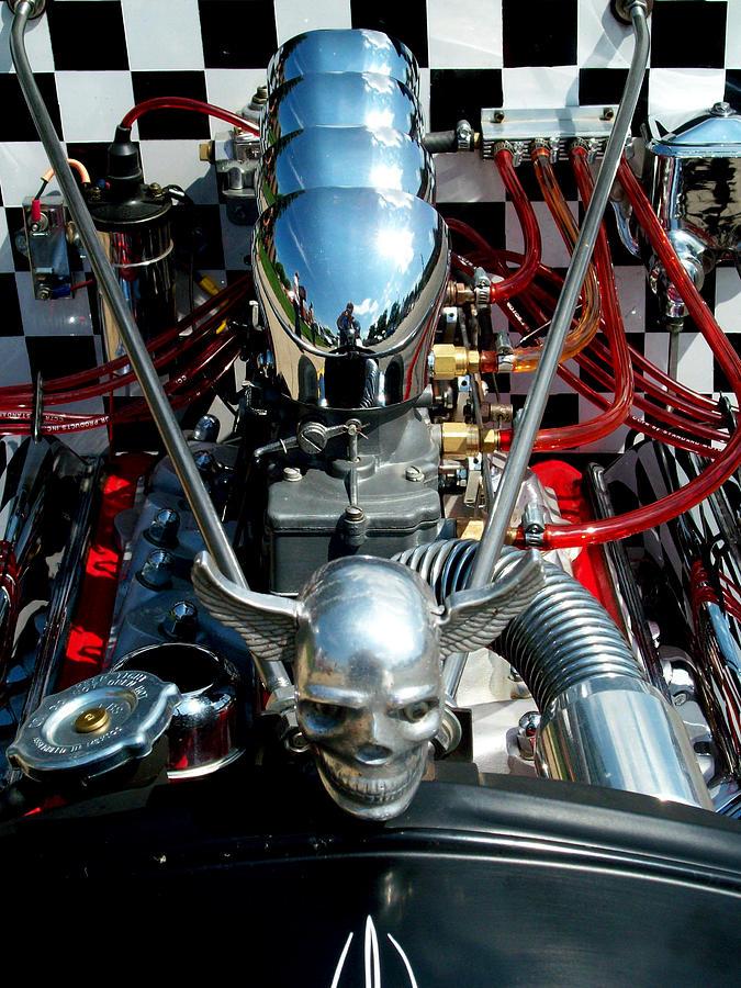 Engine Photograph - Varooom  by Michelle  BarlondSmith