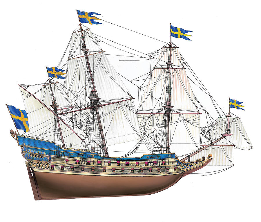 Vasa Painting by The Collectioner