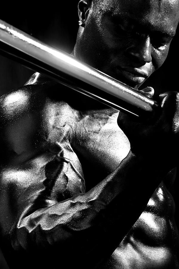 B&w Photograph - Vascularity by Val Black Russian Tourchin