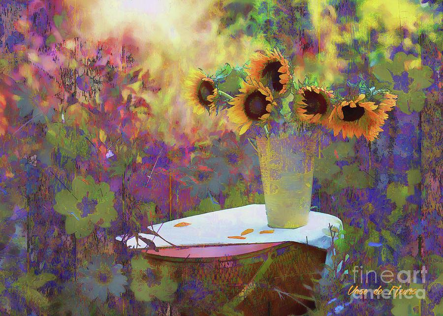 Vase de Fleurs 2017 by Kathryn Strick