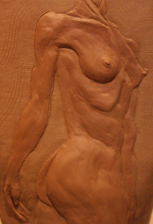 Female Nude Sculpture - Vase Series II by Dan Earle