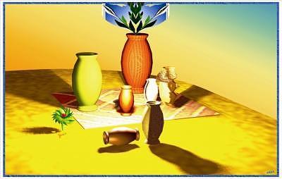 Vases Digital Art by Waldemar Max
