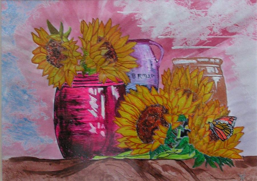 Floral Painting - Vases With Flowers by John Vandebrooke