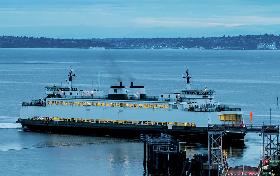 Vashon Island Ferry by E Faithe Lester