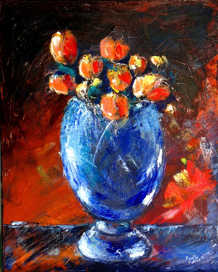 Vase Painting - Vaso 2 by Marcello Cicchini