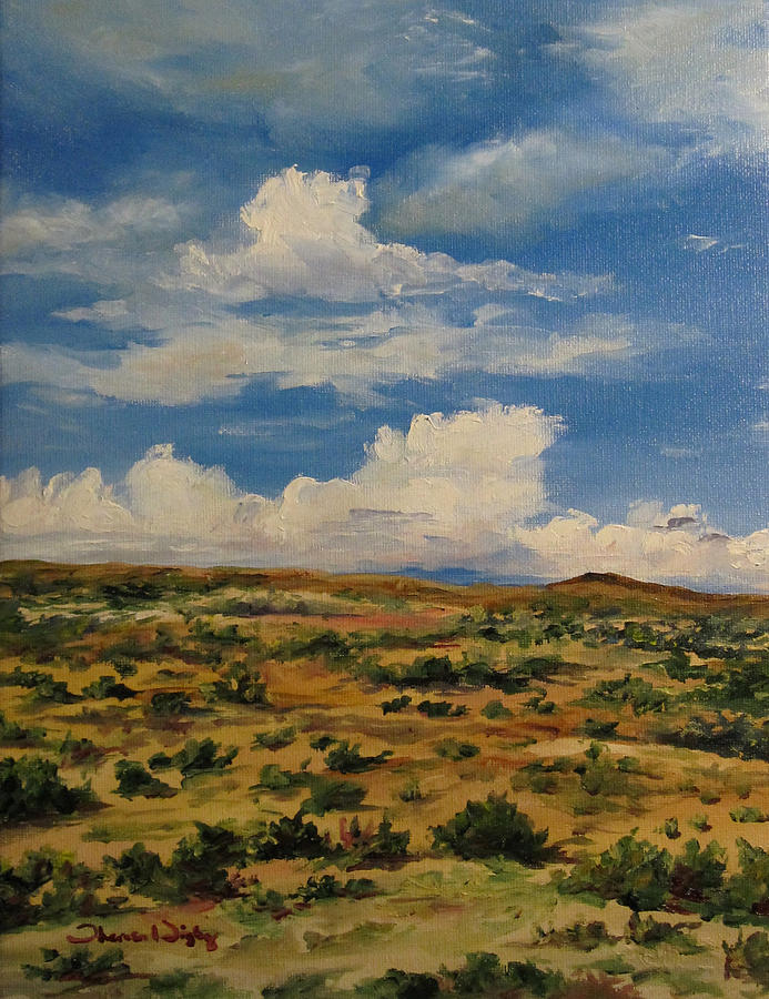 Landscape Painting - Vast Array by Theresa Higby