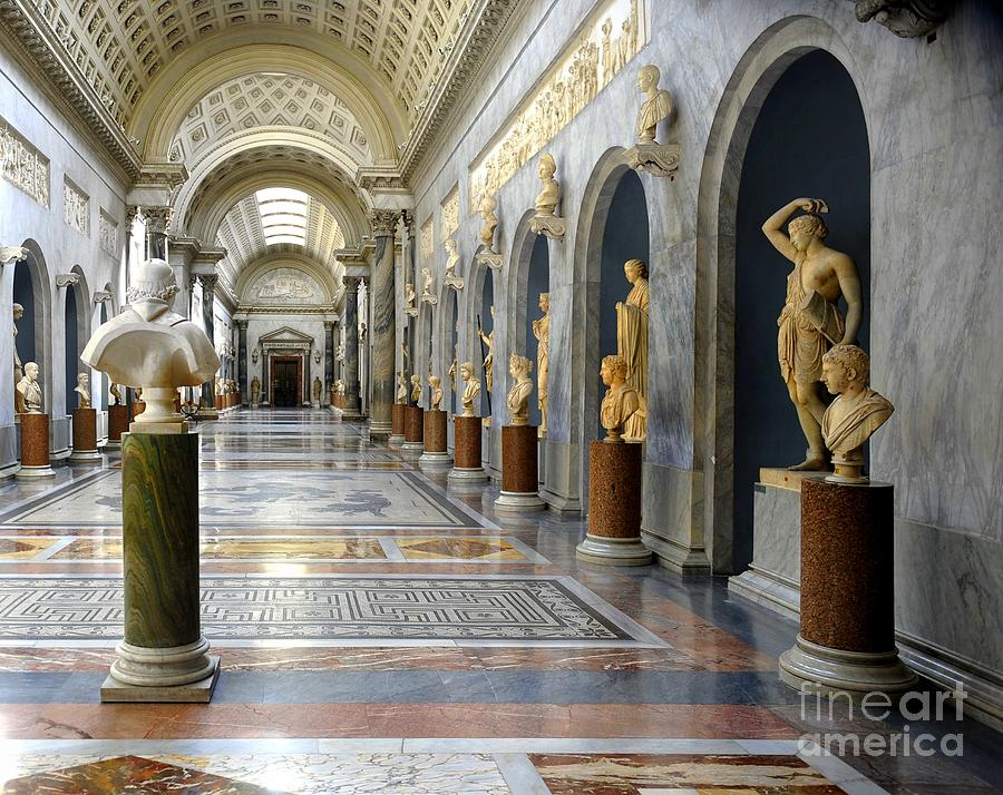 vatican museums interiors photograph by stefano senise