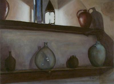 Still Life Painting - Vaux Pause by Darr Sandberg