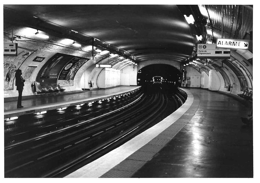 Cityscape Photograph - Vavin Station Paris Metro by Gordon Lukesh