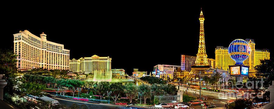 Nevada Photograph - Vegas Splendor  by Az Jackson