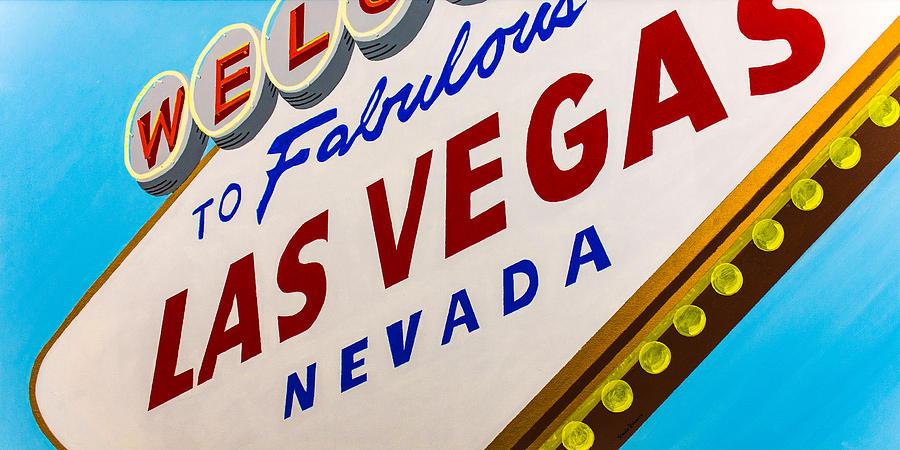 Las Vegas Painting - Vegas Tribute by Slade Roberts