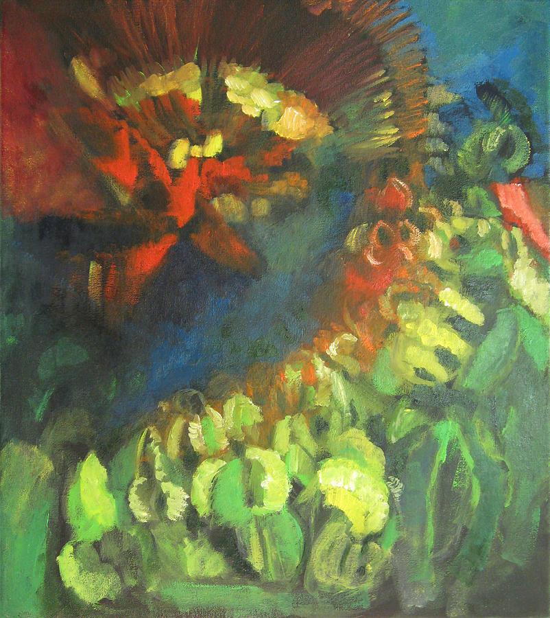Vegetable Omen Painting by Dan Pate