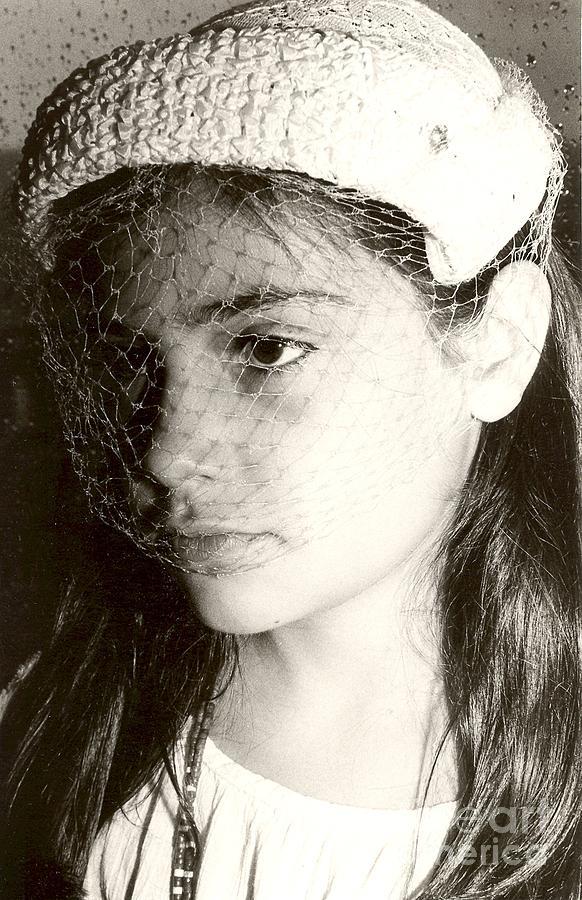 Alexis Photograph - Veil by Andrea Simon