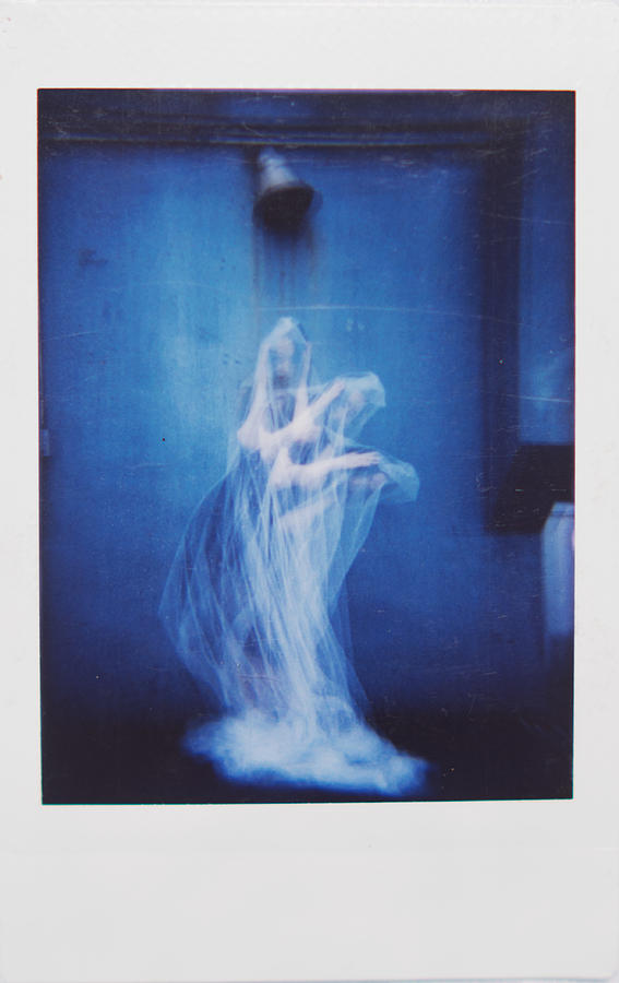 Polaroid Photograph - Veiled Thoughts Pt.ii by Helana Michelle