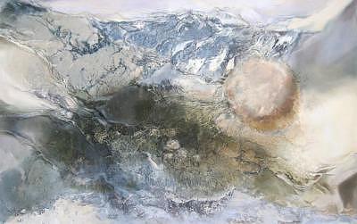 Veins Of Life Painting by Bita Vakili