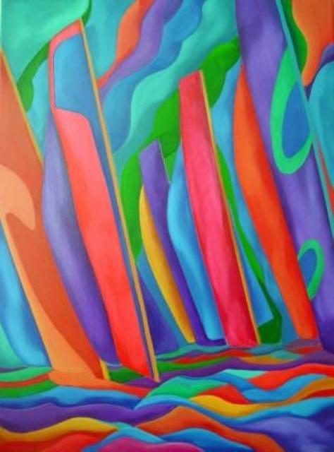 Velas II Painting by Nicolau Campos