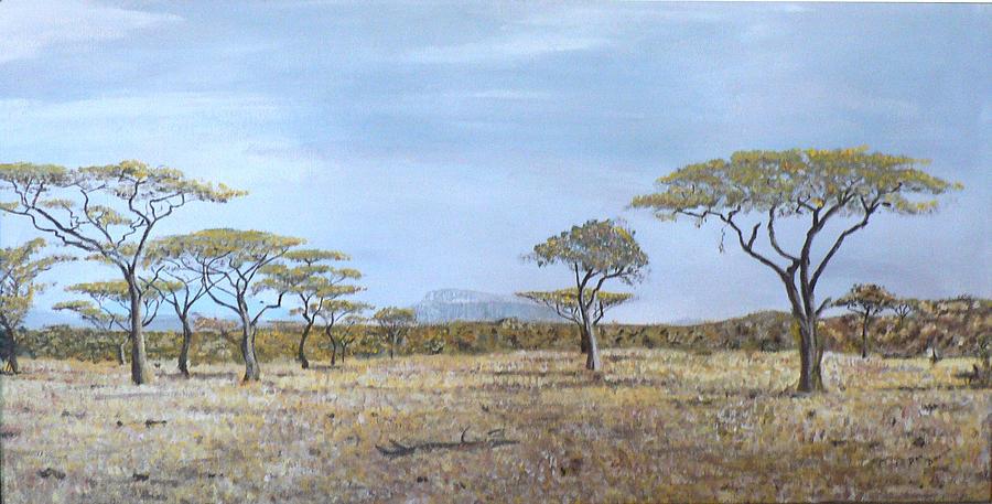African Veldt Painting - Veldt by Dan Bozich