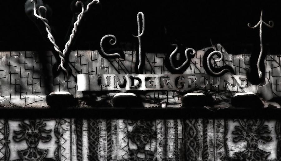 Velvet Underground Photograph - Velvet Underground by Andrea Kollo