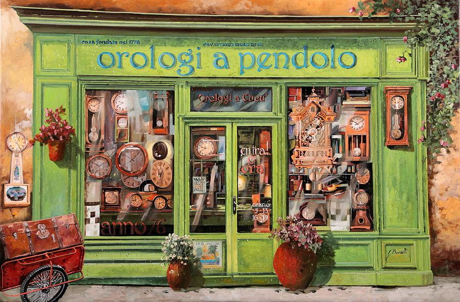 Vendita Di Orologi A Dondolo Painting