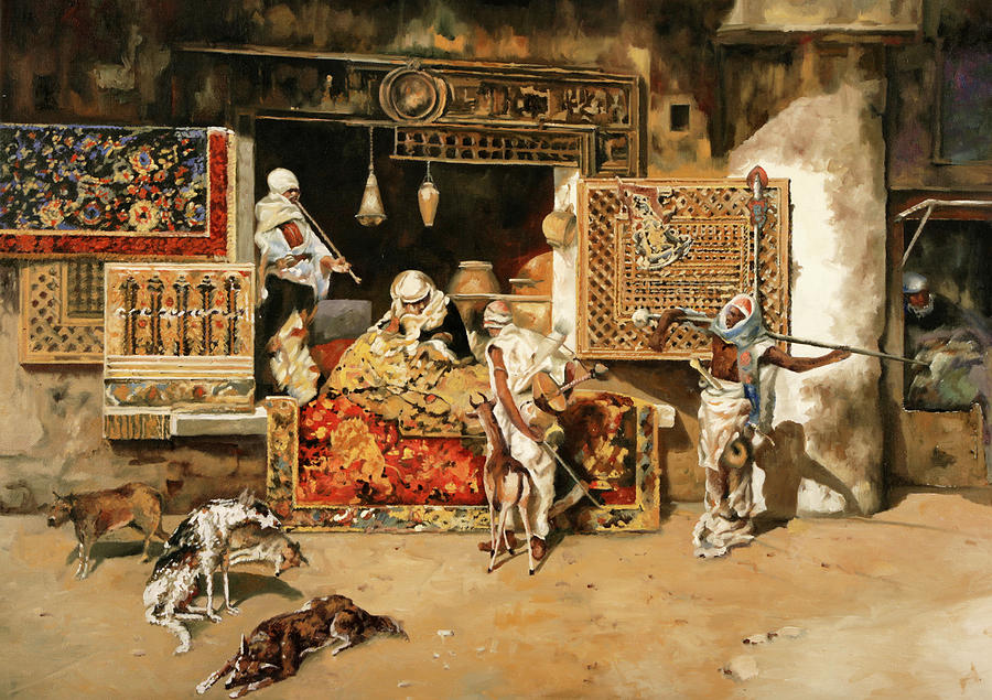 Vendita Di Tappeti Painting